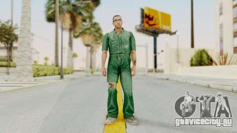 Manhunt 2 - Danny Prison Outfit для GTA San Andreas второй скриншот