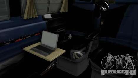 Volkswagen Transporter TDI Final для GTA San Andreas вид сзади