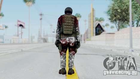 Black Mesa - Wounded HECU Marine v3 для GTA San Andreas третий скриншот