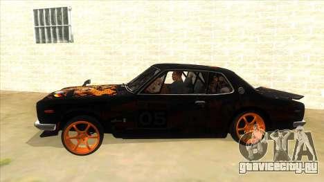1971 Nissan GT-R Hakosuka для GTA San Andreas вид слева