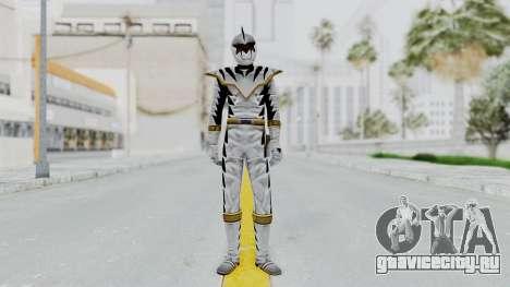 Power Rangers Dino Thunder - White для GTA San Andreas второй скриншот