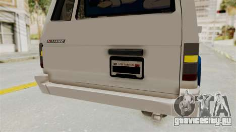 Toyota Kijang Miku Itasha Version для GTA San Andreas салон