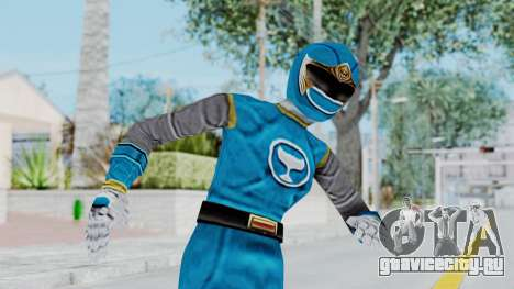 Power Rangers Ninja Storm - Blue для GTA San Andreas