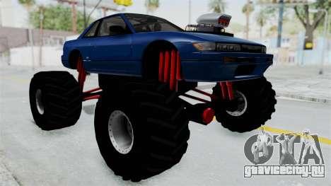Nissan Silvia S13 Monster Truck для GTA San Andreas