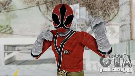 Power Rangers Samurai - Red для GTA San Andreas