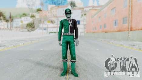 Power Rangers RPM - Green для GTA San Andreas второй скриншот