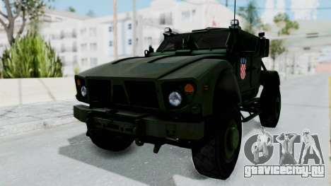 Croatian Oshkosh M-ATV Woodland для GTA San Andreas