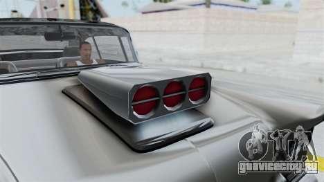 GTA 5 Declasse Tornado Hifi and Hydro IVF для GTA San Andreas вид сзади
