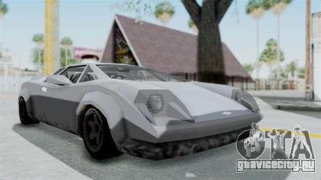 GTA Vice City - Infernus для GTA San Andreas вид справа