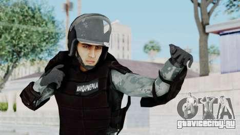 Žandarmerija Riot Skin для GTA San Andreas