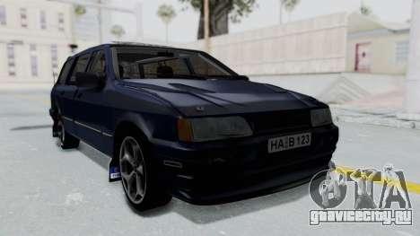 Ford Sierra Turnier 4x4 Saphirre Cosworth для GTA San Andreas вид сзади слева