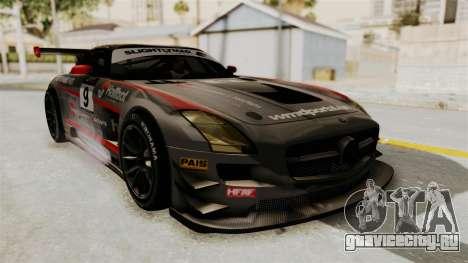Mercedes-Benz SLS AMG GT3 PJ2 для GTA San Andreas вид сверху