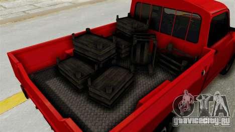 Zastava 850 Pickup для GTA San Andreas вид сзади