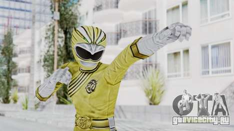 Power Rangers Wild Force - Yellow для GTA San Andreas