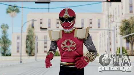 Power Rangers Ninja Storm - Crimson для GTA San Andreas