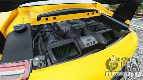 Ruf RGT-8 для GTA 5 руль и приборная панель