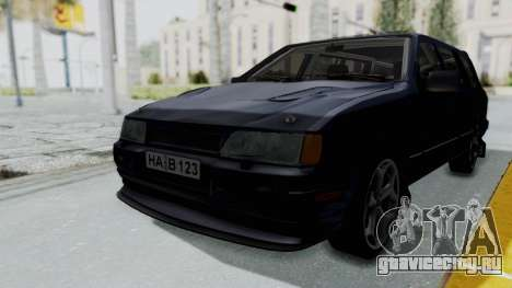 Ford Sierra Turnier 4x4 Saphirre Cosworth для GTA San Andreas