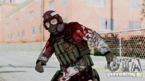 Black Mesa - Wounded HECU Marine Medic v2 для GTA San Andreas