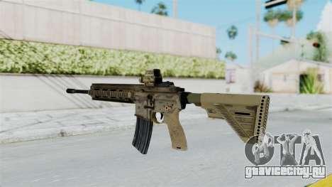 HK416A5 Assault Rifle для GTA San Andreas второй скриншот