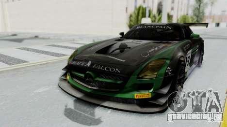Mercedes-Benz SLS AMG GT3 PJ7 для GTA San Andreas вид сбоку