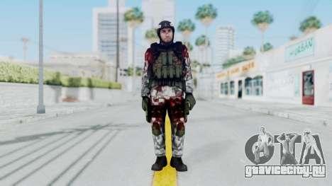 Black Mesa - Wounded HECU Marine Medic v1 для GTA San Andreas второй скриншот