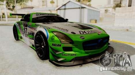 Mercedes-Benz SLS AMG GT3 PJ2 для GTA San Andreas колёса