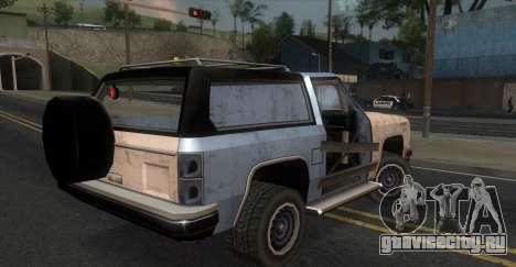 Derby Rancher для GTA San Andreas вид слева