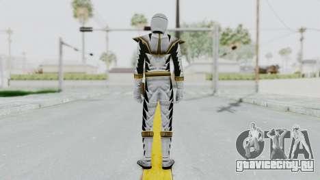 Power Rangers Dino Thunder - White для GTA San Andreas третий скриншот
