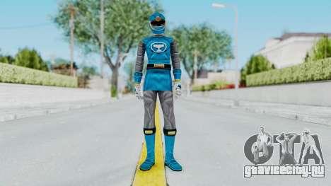 Power Rangers Ninja Storm - Blue для GTA San Andreas второй скриншот