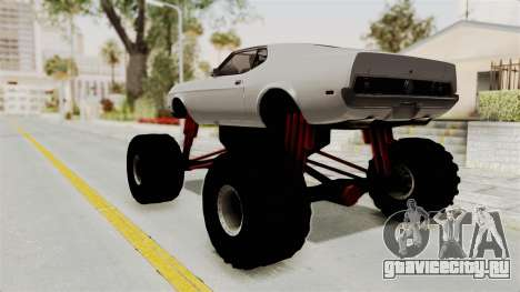 Ford Mustang 1971 Monster Truck для GTA San Andreas вид слева