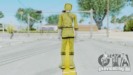 Power Rangers Wild Force - Yellow для GTA San Andreas третий скриншот