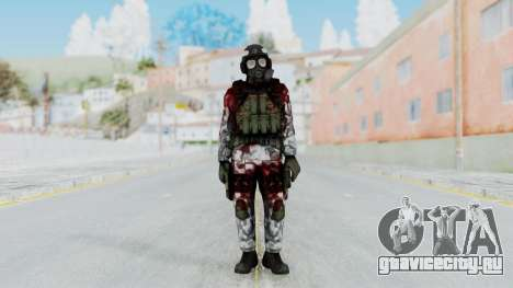 Black Mesa - Wounded HECU Marine Medic v2 для GTA San Andreas второй скриншот