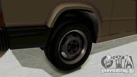 Volvo 740 для GTA San Andreas вид сзади
