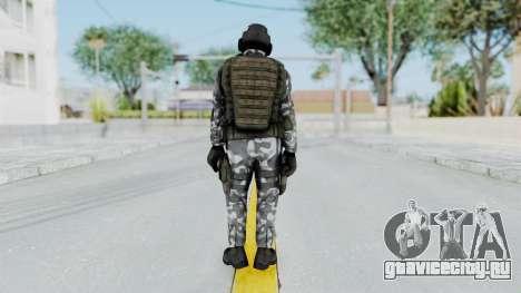 Black Mesa - HECU Marine Medic v2 для GTA San Andreas третий скриншот
