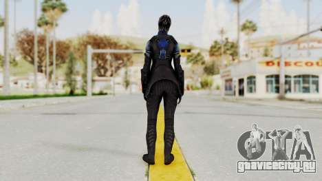 Mass Effect 3 Liara DLC Alt Costume для GTA San Andreas третий скриншот