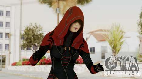 Mass Effect 2 Kasumi Red для GTA San Andreas
