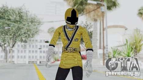 Power Rangers Samurai - Yellow для GTA San Andreas