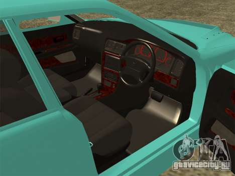 Toyota Chaser JZX100 для GTA San Andreas вид сзади слева