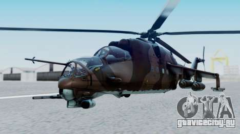 Mi-24V Soviet Air Force 0835 для GTA San Andreas