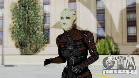Mass Effect 1 Asari Clone Commando для GTA San Andreas