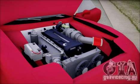 ZR - 350 для GTA San Andreas вид изнутри