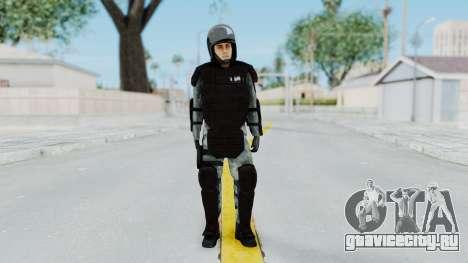 Žandarmerija Riot Skin для GTA San Andreas второй скриншот