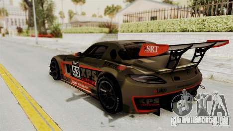 Mercedes-Benz SLS AMG GT3 PJ4 для GTA San Andreas салон