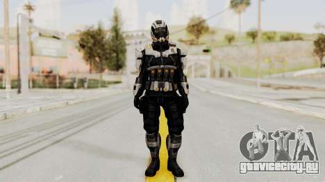 Mass Effect 3 Shepard Ajax Armor with Helmet для GTA San Andreas второй скриншот