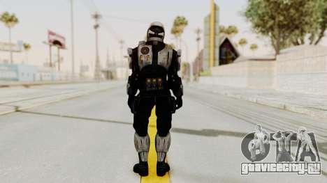 Mass Effect 3 Shepard Ajax Armor with Helmet для GTA San Andreas третий скриншот