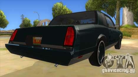 Chevrolet Monte Carlo 81 для GTA San Andreas вид справа