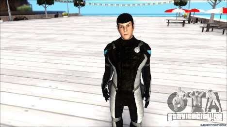 Star Trek Spock для GTA San Andreas