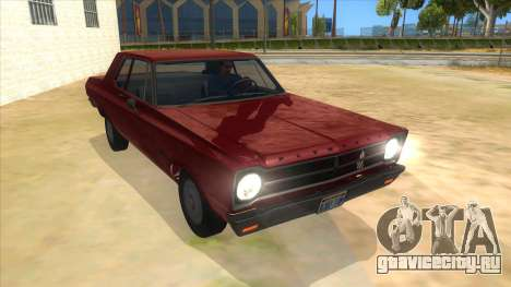 1965 Plymouth Belvedere 2-door Sedan для GTA San Andreas вид сзади