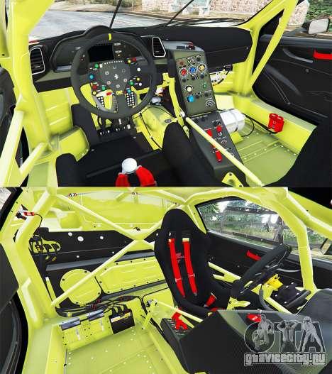 Ferrari 458 Italia GT2 для GTA 5 вид сзади справа