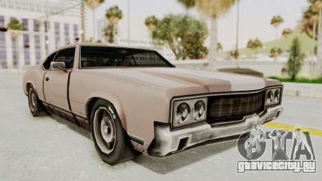 GTA Vice City - Sabre Turbo (Sprayable) для GTA San Andreas